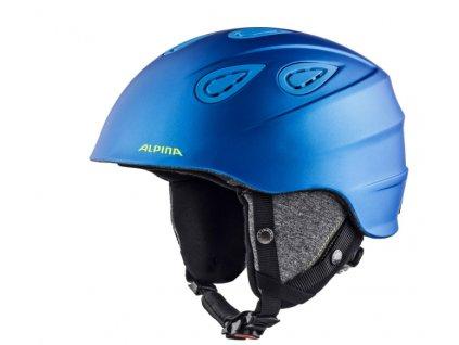 ALPINA - prilba GRAP 2.0 blue  neon  matt f1b698fdba8