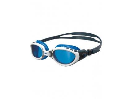 speedo futura biofuse flexiseal oxid grey white blue lens goggles 811532b979 b[1]