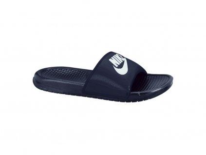 NIKE - obuv SW BENASSI JDI dark blue