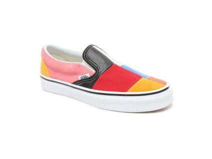 VANS - obuv STR VANS CLASSIC SLIP-ON PATCHWORK SNEAKERS Multi