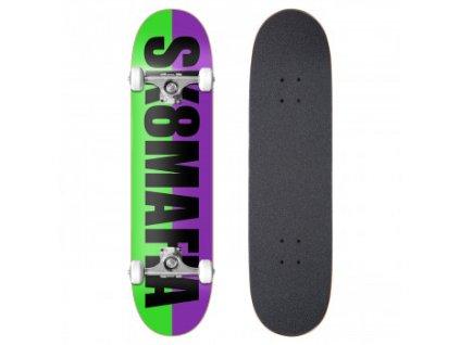 skateboard sk8mafia og logo split black 8 0[1]
