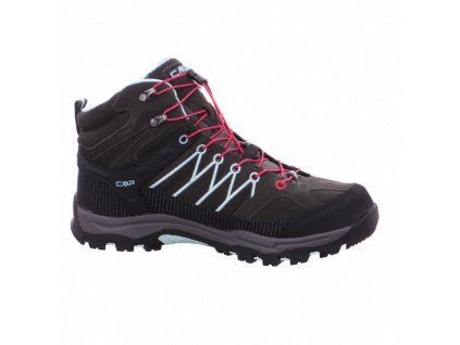 CAMPAGNOLO - obuv OUT-A  RIGEL MID TREKKING SHOES WP black/pink