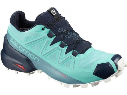 SALOMON - obuv TRAIL-R SPEEDCROSS 5 GTX W light blue/navy