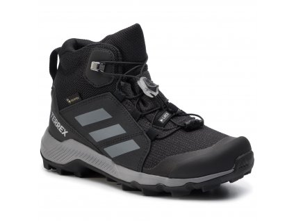 ADIDAS - obuv OUT-A TERREX MID GTX K black