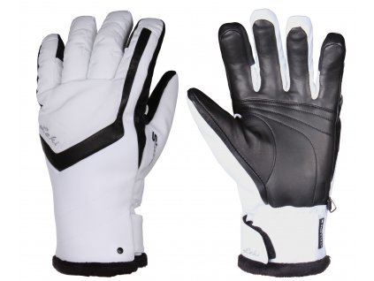 LEKI - rukavice L Stella S Lady white black