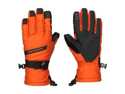 QUIKSILVER - rukavice L MISSION YOUTH GLOVE Flame