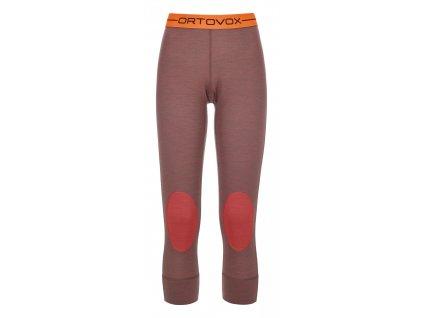 ORTOVOX - nohav.T W's 185 Rock'n'Wool Long Pants blush blend