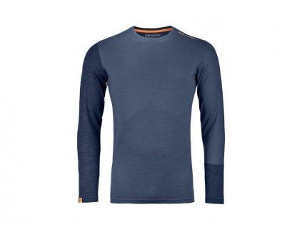 ortovox 185 rock n wool long sleeve m night blue 104826[1]