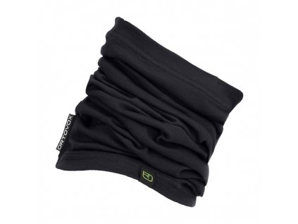 ortovox merino headwear 145 ultra neckwarmer black raven[1]