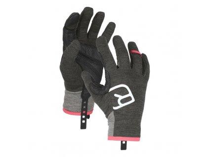 ortovox merino gloves fleece light glove w dark grey blend[1]