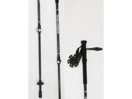 HIGH COLORADO skialpové palice TOUR CARBON black