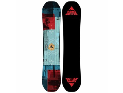 BURTON - snowboard RADIUS KIDS blue/orange