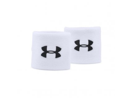 UNDER ARMOUR - potítko Performance Wristbands white