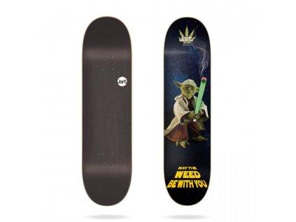 jart weed nation yoda 8 375 skateboard deck[1]
