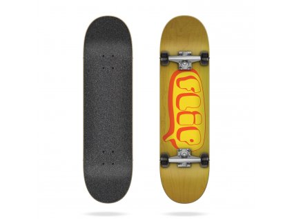 product f l flip team bubble yellow 7 0 complete skateboard[1]