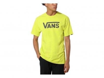 VANS tričko KR VANS CLASSIC yellow
