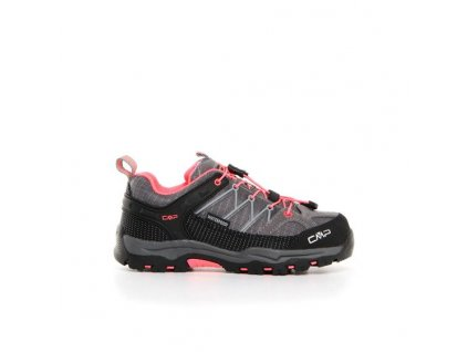CAMPAGNOLO obuv OUT-A KIDS RIGEL LOW TREKKING SHOE WP grey/light pink