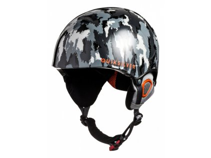 QUIKSILVER - prilba THE GAME waxdotcamo grey