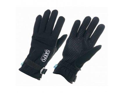 2117 - lyžiarske rukavice Hammra black