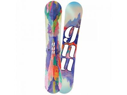 GNU - snowboard B-NICE REFLECT BTX   16/17