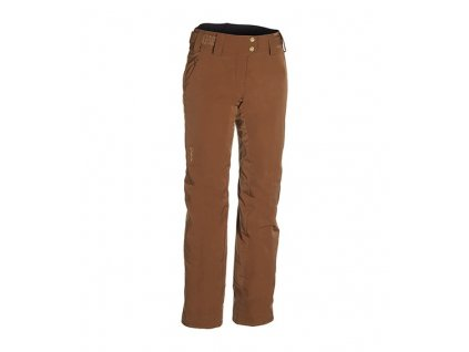 PHENIX - nohavice OT Lily Waist Pants brown