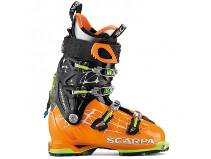lyžiarky SCARPA FREEDOM RS NEW orange/black 2016/2017