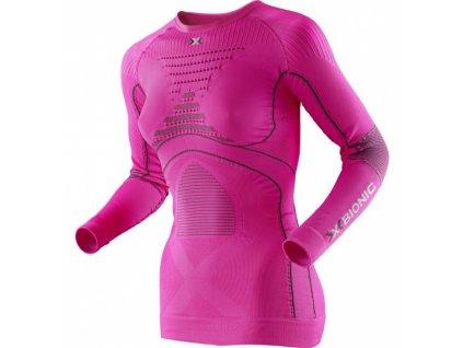 X-Bionic - bielizeň T ACC EVO LADY SHIRT LONG SL.ROUND NECK pink