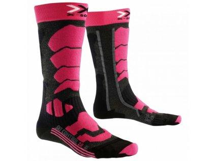 X-Bionic - ponožky T X-SOCKS SKI CONTROL 2.0 LADY black/pink