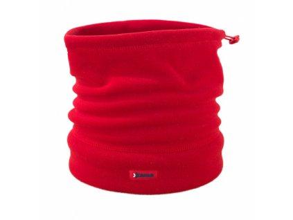 čapica - nákrčník KAMA A14 červená