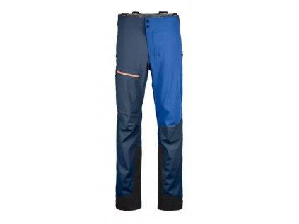 Ortovox nohavice 3L Ortler Pants M blue lake