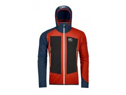Ortovox bunda Col Becchei Jacket M desert orange