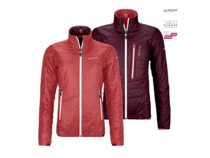 Ortovox bunda Swisswool Piz Bial Jacket W blush