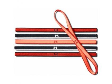 Under Armour čelenka UA Mini Headbands (6pk) red