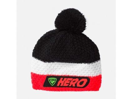 rossignol hero pompon x3 black ciapka[1]