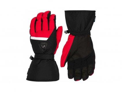 16982 rukavice rossignol action impr red black[1]