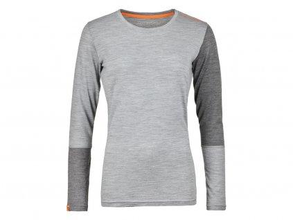 Ortovox tričko T W's 185 Rock'n'Wool Long Sleeve grey
