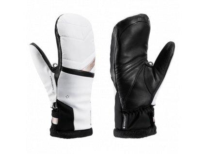 Leki rukavice Snowfox 3D Lady Mitt white/gold