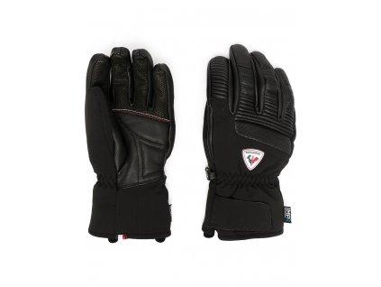Rossignol rukavice Concept Lth Impr G black