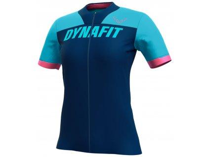 Dynafit tričko Ride W S/S Fz Tee silvretta