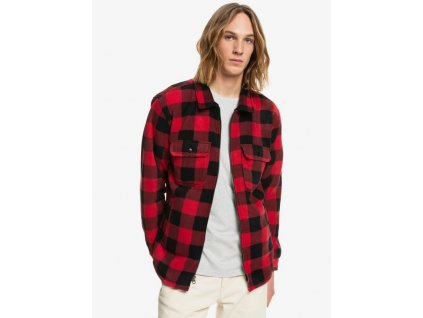 Quiksilver košeľa Tolala Allover american red