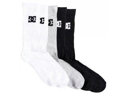 DC ponožky Crew 3PK assorted