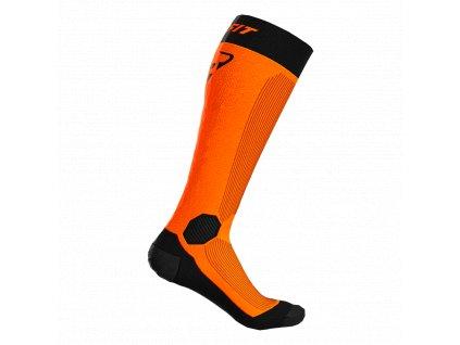 Dynafit ponožky Tour Warm Merino Sk shocking orange