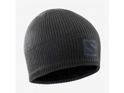 Salomon čiapka Logo Beanie black