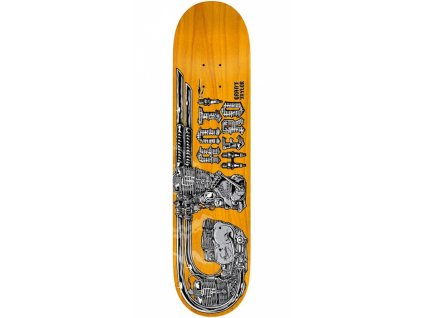 Antihero doska TAYLOR GT REVVING 8.4 BLACK/YELLOW