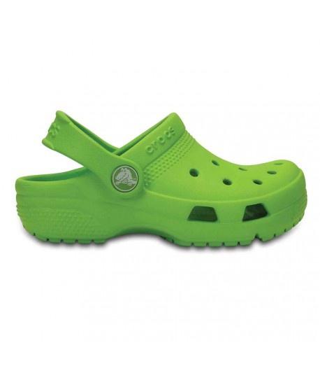 Crocs - šlapky COAST CLOG K volt green Velikost: 28-29