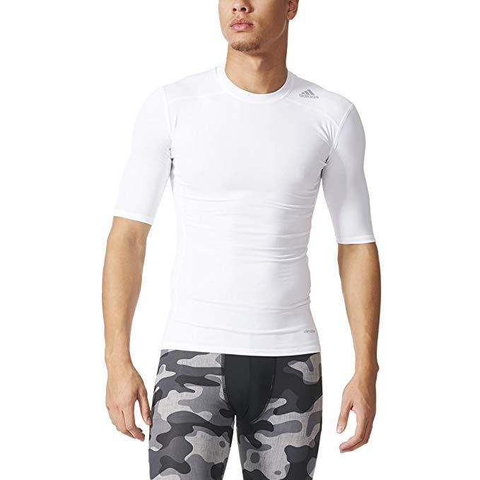 Adidas tričko TF BASE SS white Velikost: L