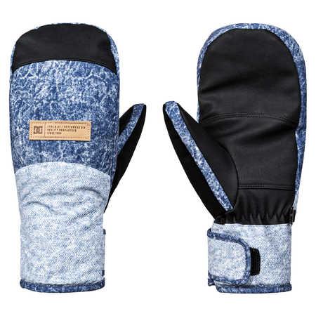DC - rukavice L FRANCHISE acid wash dark blue 18/19 Velikost: M