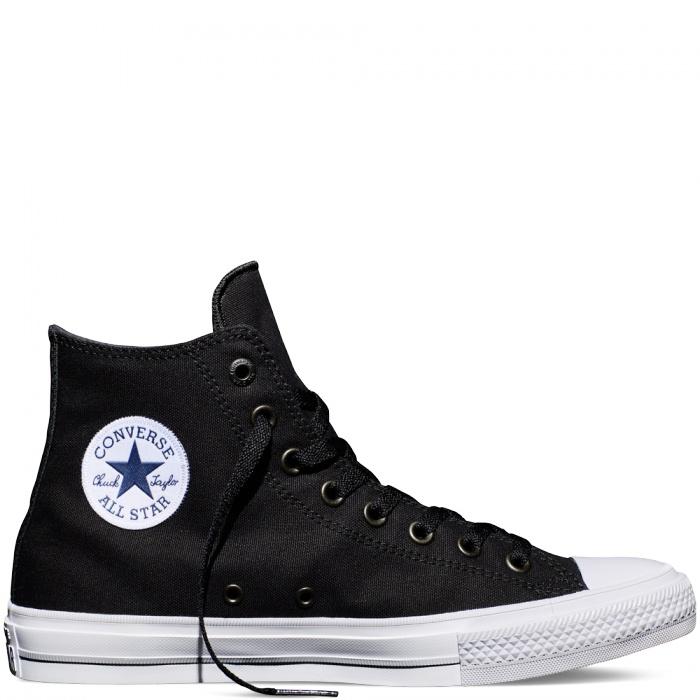 Converse obuv Chuck Taylor All Star II high black/white/navy Velikost: 37.5