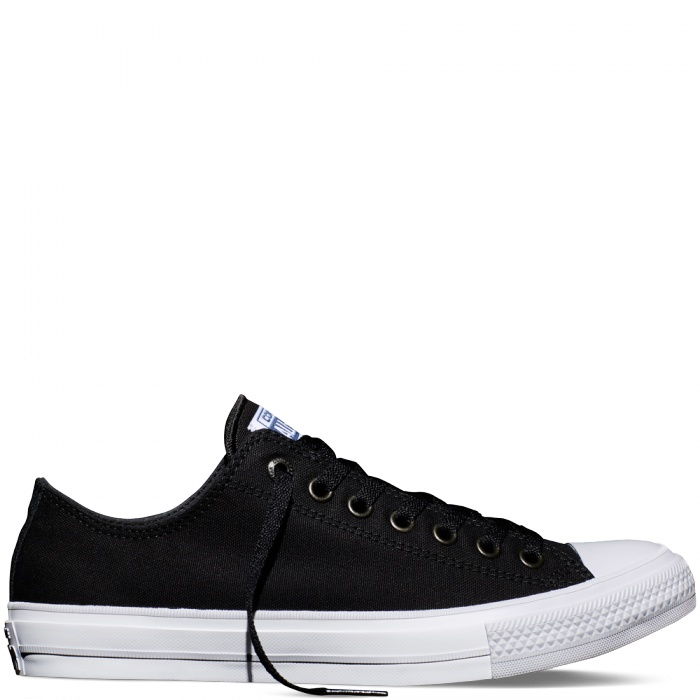 Converse obuv Chuck Taylor All Star II low black/white/navy Velikost: 36
