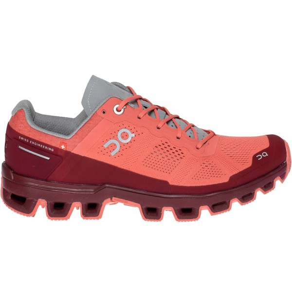 On Running obuv CLOUDVENTURE coral/multiberries Velikost: 36